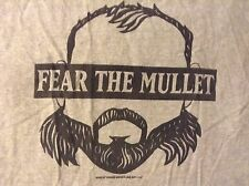 ROH Michael Elgin T-Shirt 3XL Fear the Mullet Unbreakable Ring of Honor NJPW