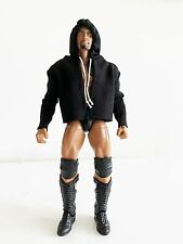 "NOX-ST-L: FIGLot Fabric Hoodie for 7"" Mattel Elite Wrestling WWE Figure - Black"