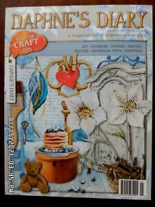Daphne's Diary magazine Issue Number 8 2015 not used Good condition