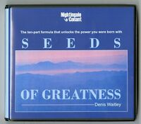 Seeds of Greatness: by Denis Waitley - Audiobook - 7CDs - Includes Workbook CD