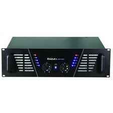 IBIZA Sound 3000 W AMPLIFICATORE professionale RACK MOBILE DJ Disco PA SYSTEM