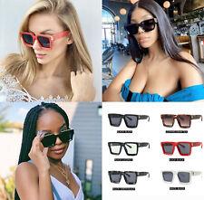 Hip Hop Fashion Shades Designer Women Ladies Oversized Sunglasses Square Frame