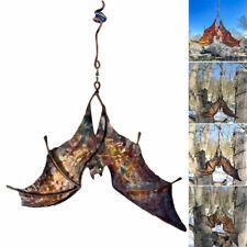 Bat Wind Catcher Spinner Sculptures Yard Windmill Garden Ornaments Yard Art Hot
