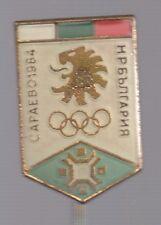 1984 Bulgaria Sarajevo Olympic NOC Pin