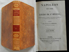 A / NAPOLEON IN EXILE L'ECHO ST. HELENA Barry O'Meara (1822) Linked up leather