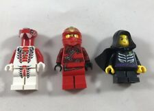 LEGO NINJAGO Minifigure Lot Of 3: LLOYD GARMADON, FANG-SUEI, KAI ZX 9443