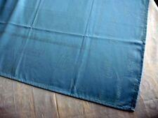 Tischdecke z. besticken Rico Design 17841.50.21  Schriftzug blau    90x90cm