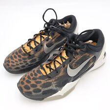 Nike Zoom Kobe VII 7 System Cheetah Size 11 Basketball Shoes Sneakers Orange