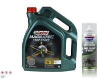 5 Litro Castrol Olio Motore Magnatec Stop-Start 5W-30 C2 Presto