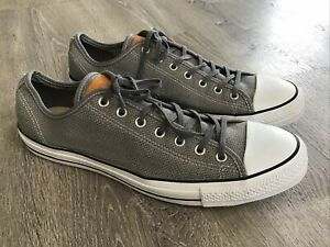 Converse Chuck Taylor Summer Woven Low Mason Mens Sizs 15 Sneakers Gray 147089F