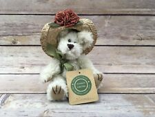 "Boyds Bears Minnie Higgenthrope 6"" #918441 Floral Hat Bear"
