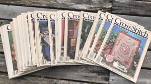 $3.00 1980's Vintage Cross Stitch & and Country Craft Magazine - You Pick Issue