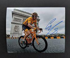 Geraint Thomas Signed 8x10 Photo Exact Proof Tour de France