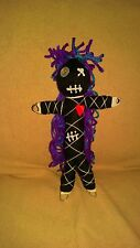 Authentic Voodoo Doll Black Beauty real 7 pins guide new orleans Karma Keepers