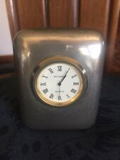 Orologio da tavolo BUCHERER in acciaio anni 80