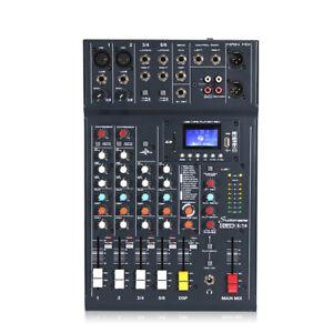 Studiomaster XS6 6 Channel PA Mixer Bluetooth Audio & USB