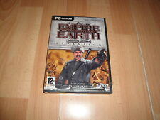 EMPIRE EARTH 2 THE ART OF SUPREMACY DE SIERRA EXPANSION PARA PC NUEVO PRECINTADO