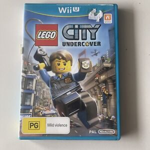 RARE! LEGO City Undercover + Booklet Nintendo Wii U PAL TESTED! (Disc In VGC)