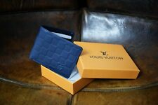 Louis Vuitton Wallet Squares Navy new men