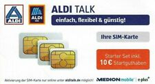 01573/6530020 ALDI TALK SIM Karte E-plus Starter Set inkl. 10 ? Guthaben *NEU*