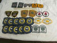 HUGE LOT OF 26 POLICE & SECURITY PATCHES;  LOT # 3
