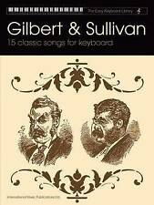 Gilbert & Sullivan: 15 Classic Songs for Keyboard (Easy Keyboard-ExLibrary