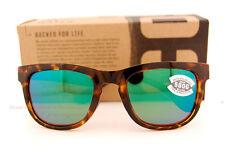 New Costa Del Mar Fishing Sunglasses COPRA Tortoise Green Mirror 580G POLARIZED