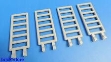 LEGO 1x7x3 RECINTO / SCALE / CAVALLI Recinzioni Grigio Chiaro / 4 pezzi