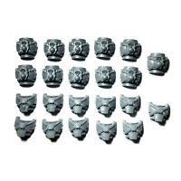 Space marine MKIV Tactical Squad TORSO / BODIES x 10 Horus Heresy 30K Torsos