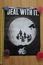 Gullwing Skateboard Trucks Deal With It Pipe Tube Skateboarding 18x24in. Poster