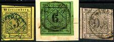 Germany Wurttemberg Series of 1863 6 Kr Scott's 37 Cancelled Stuttgart 1864