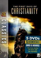 NEW 5DVD SET // HISTORY CHANNEL // The First Days of Christianity//5 DOCUMENTRAR