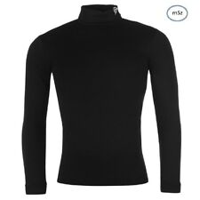 Para Hombre Dunlop Roll Neck de Superdry Stretch manga larga bloque de puente Golf Suéter Talla M