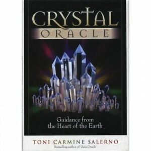 Crystal Oracle Cards by Toni Carmine Salerno: Free Delivery