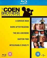 The Coen Brothers Blu Ray Box Set 5 Movie Collection Film New UK Versio Original