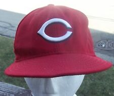 Cincinnati Reds Fitted Hat 7 1/8  New Era  Red  Official On Field Hat