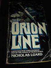 THE ORION LINE by NICHOLAS LUARD BALLANTINE BOOKS Paperback 1978
