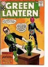 Green Lantern 9 First Sinestro on Cover DC 1961