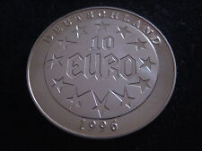 """MDS DEUTSCHLAND MEDAILLE 10 EURO 1996 PP """"EUROPA"""" (KEIN ZAHLUNGSMITTEL)"""