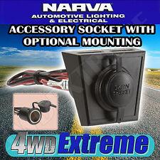 NARVA CIG ACCESSORY SOCKET PANEL MOUNT DUST COVER CIGARETTE 12 24 VOLT 81028BL