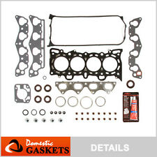 Fit 96-00 Honda Civic De So 1.6 SOHC MLS Head Gasket Set D16Y5 D16Y7 D16Y8 D16B5