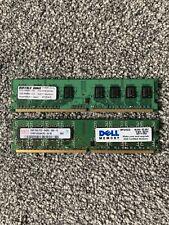 2x2GB DDR2 SDRAM