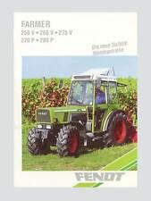Fendt Farmer 250 V 260 V  270 V  260 P  270 P  280 P Schlepper Original 1994