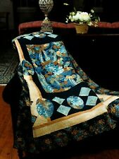 Oriental Blossoms Quilt Pattern Pieced/Applique PT