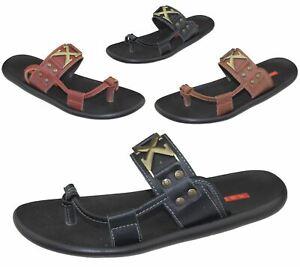 Mens Slippers Mens Sandals Men's Slipper Summer Slippers mens Leather Slippers