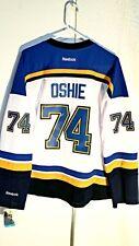 Reebok Women's Premier NHL Jersey St. Louis Blues T.J. Oshie White sz L