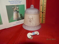 Hummel Goebel Christmas Bell Series 1992 Fourth Edition Harmony in 4 Parts