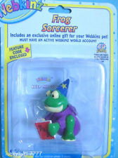 Webkinz FROG Sorcerer Figure w/code 4 Magical Forest FREE US SHIP Factory Sealed