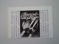 advertising Pubblicità 1941 BINOCOLI SAN GIORGIO