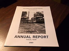 1989 CONNECTICUT ELECTRIC RAILWAY ANNUAL REPORT